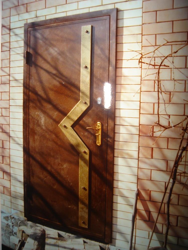 Входная дверь в дом 10