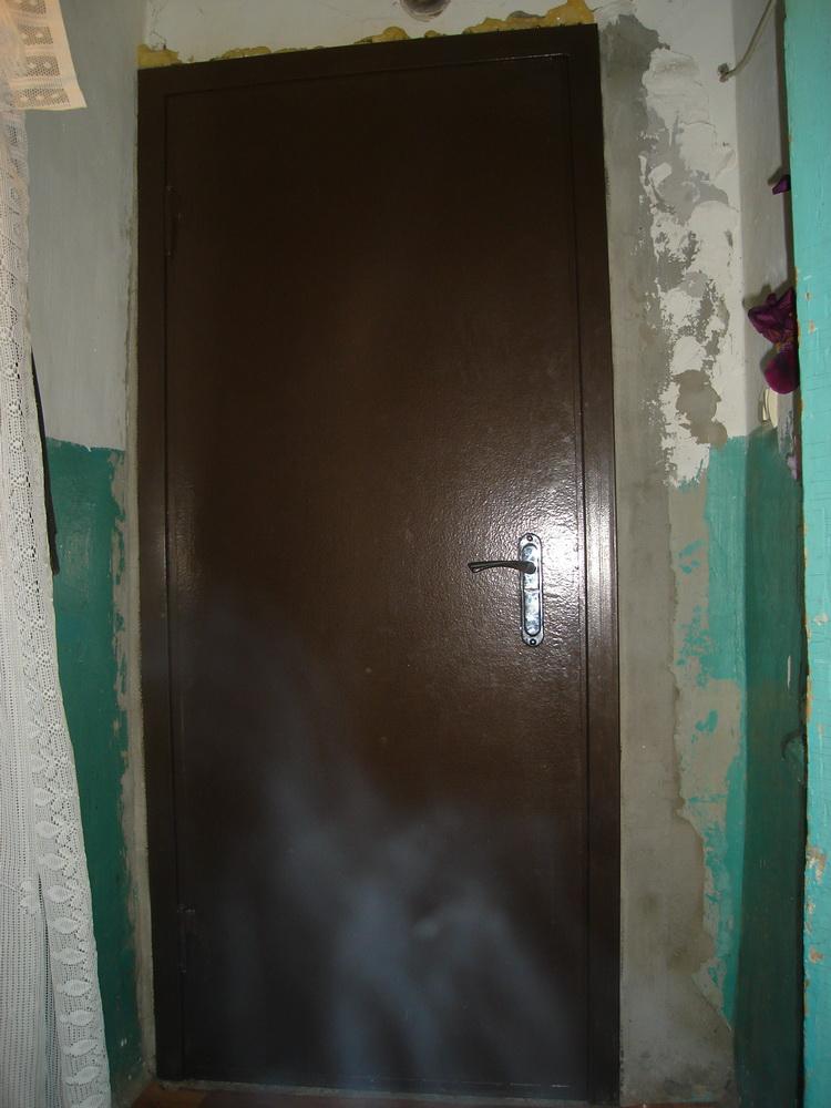 Входная дверь в дом 5