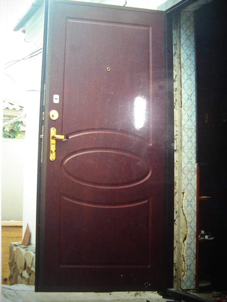 Входная дверь в дом 8