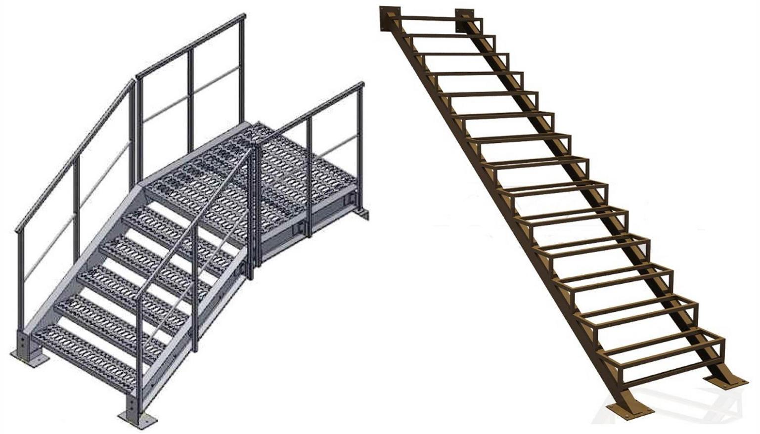 Лестницы из металла в Пятигорске и КМВ. Металлические лестницы в Пятигорске и КМВ.