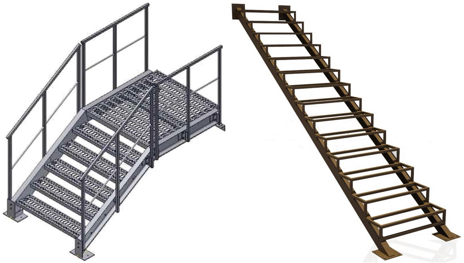 Металлические лестницы в Пятигорске и КМВ