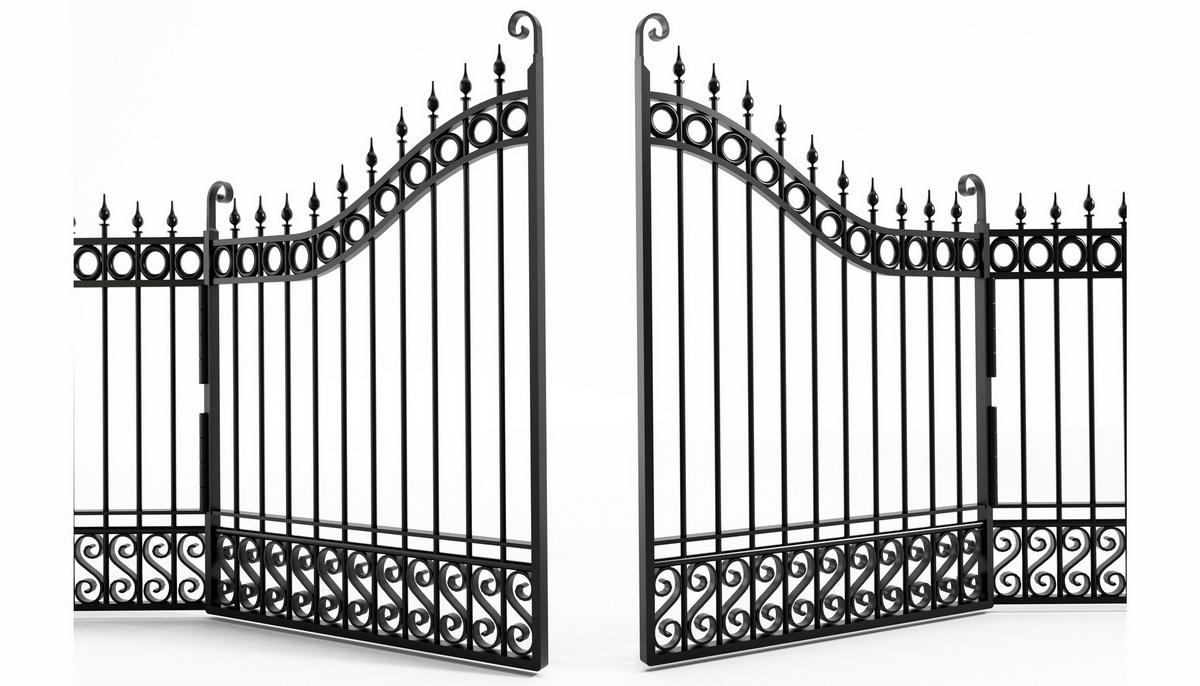 Распашные ворота в Пятигорске и КМВ