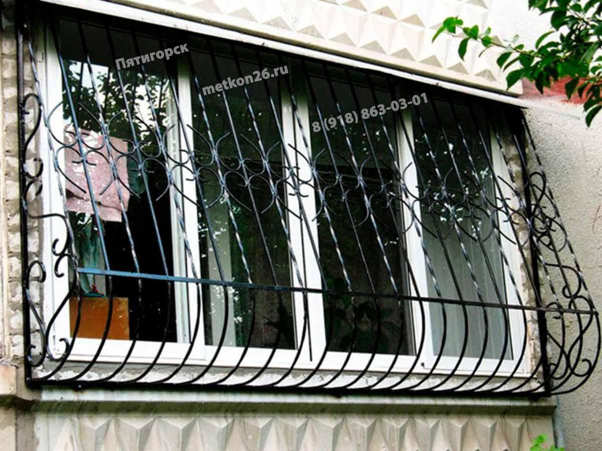 Решетки на балконные окна на заказ. Решетки на лоджию и балкон. КМВ. Пятигорск. Ессентуки. Лермонтов. Железноводск. Минеральные Воды. Кисловодск. Георгиевск.