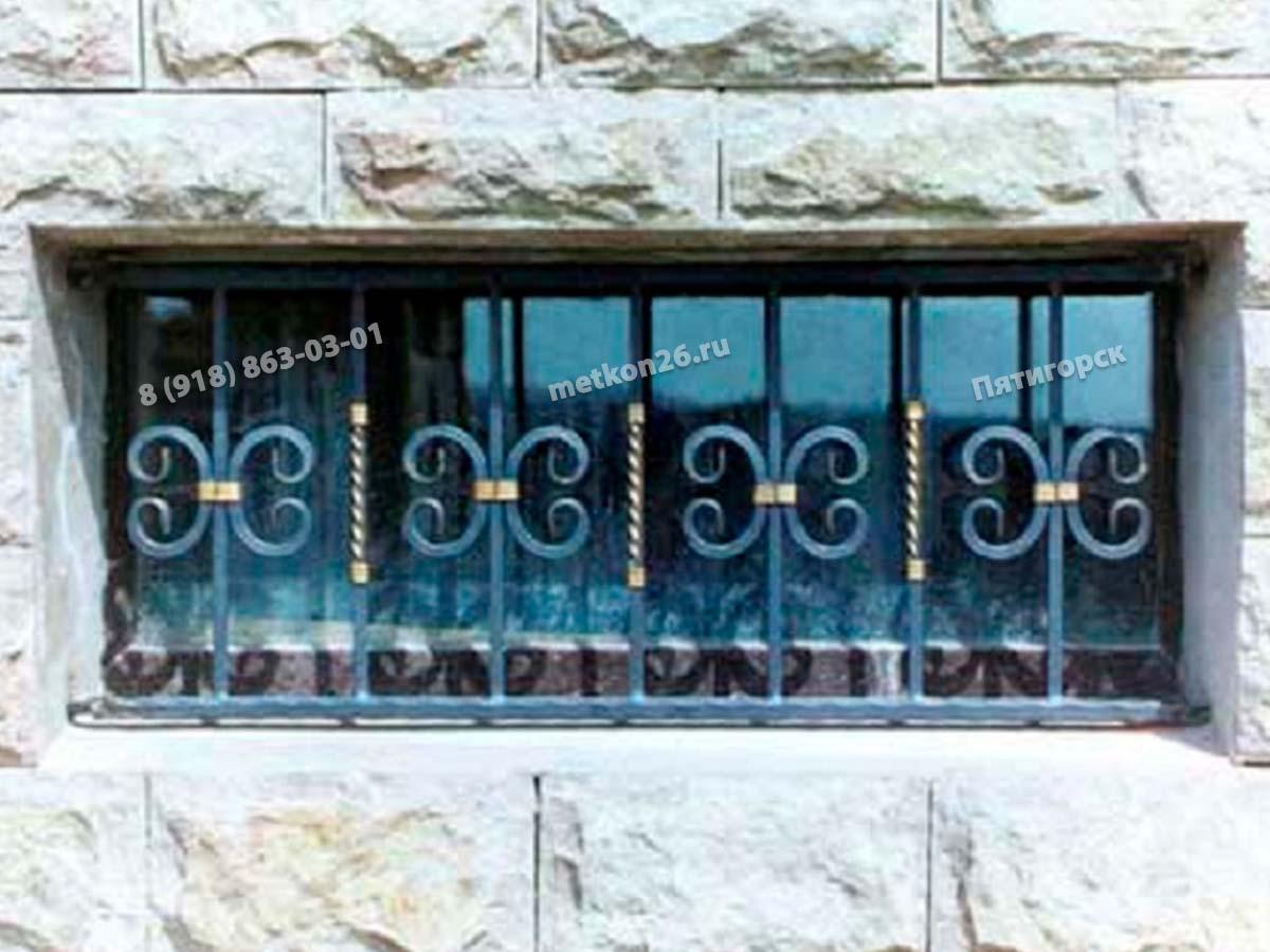 Кованые решетки на окна на заказ. Оконные решетки с элементами ковки. КМВ. Пятигорск. Ессентуки. Лермонтов. Железноводск. Минеральные Воды. Кисловодск. Георгиевск.